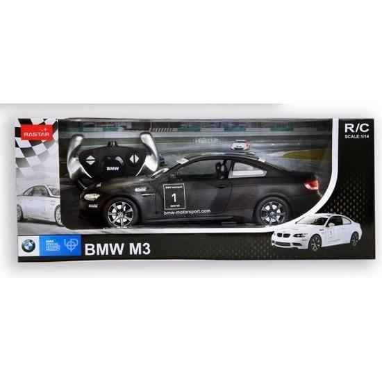 BMW M3 zwart radiografisch bestuurbaar 1:14