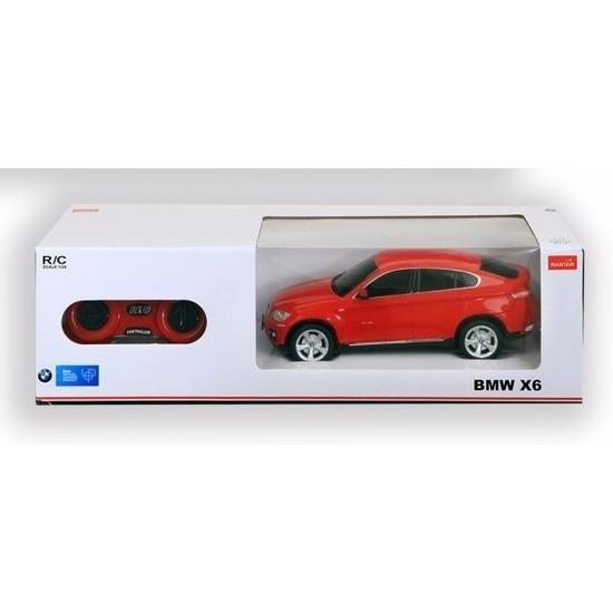 BMW X6 rood radiografisch bestuurbaar 1:24