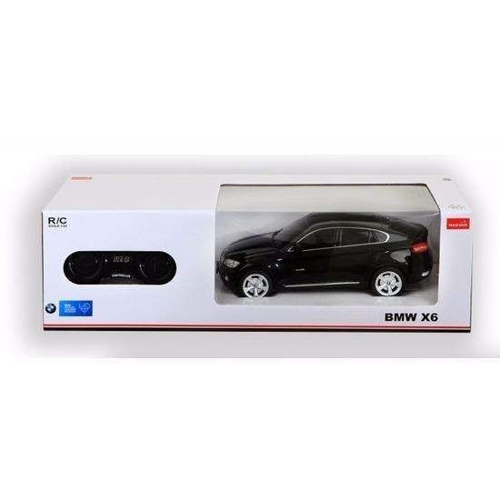 BMW X6 zwart radiografisch bestuurbaar 1:24