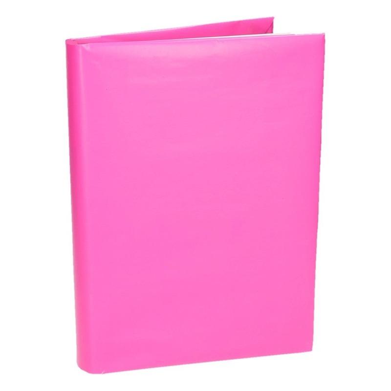 Boeken kaften rol roze papier 200 cm
