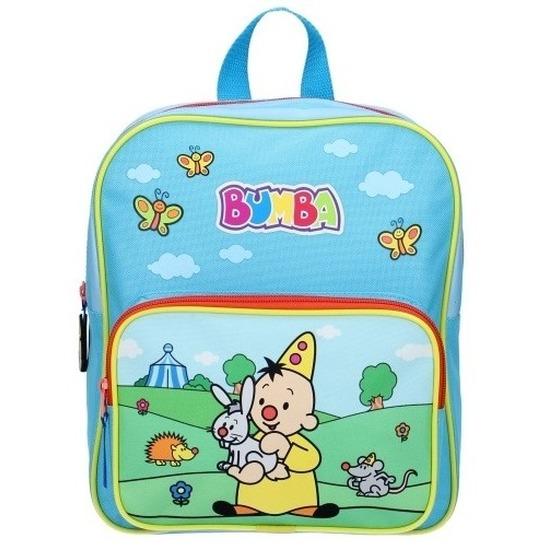 Bumba school rugzak blauw voor kinderen 28 x 25 x 13 cm