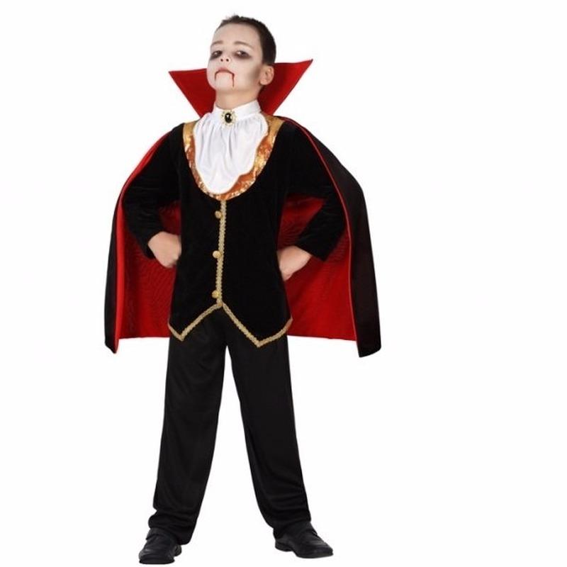 Compleet vampier kostuum voor jongens