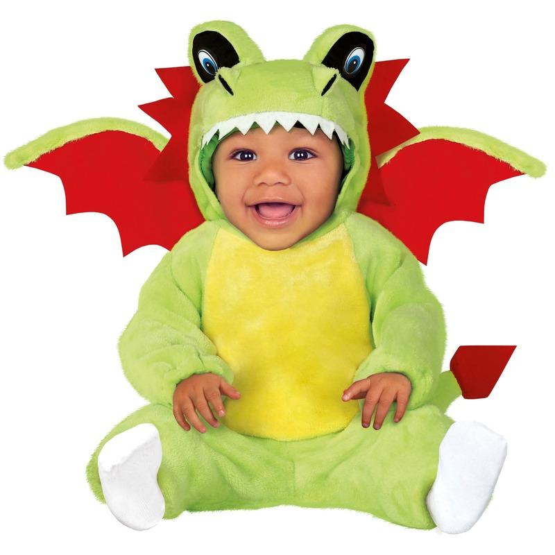 Draken verkleed pakje-onesie voor babys-peuters