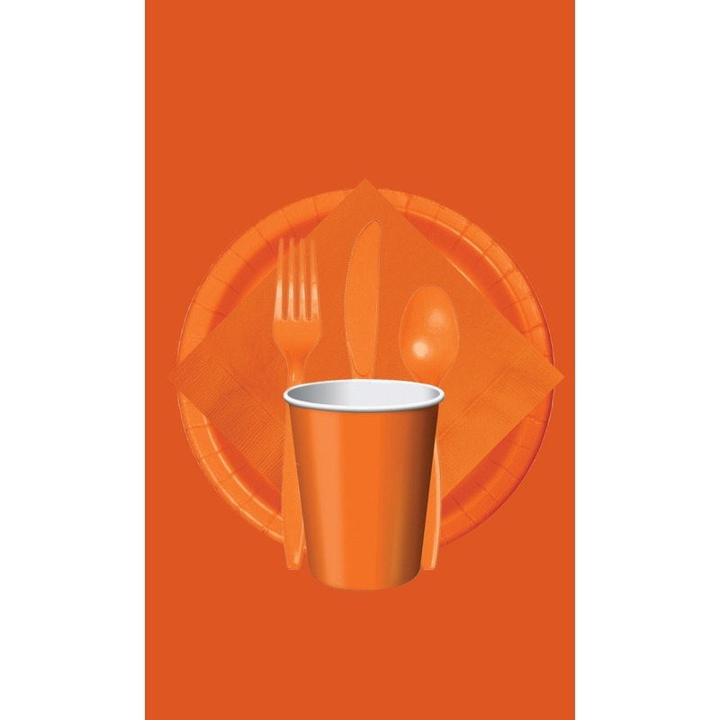 Feest decoratie pakket oranje Holland supporter-fan