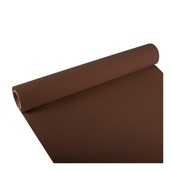 Feest-party bruine tafeldecoratie papieren tafelloper 300 x 40 cm