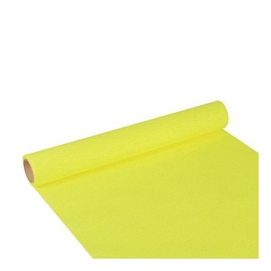 Feest-party lime groene tafeldecoratie papieren tafelloper 300 x 40 cm