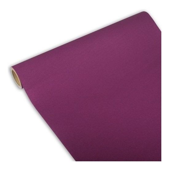Feest-party paarse tafeldecoratie papieren tafelloper 300 x 40 cm