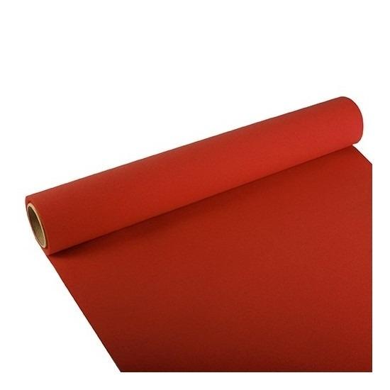 Feest-party rode tafeldecoratie papieren tafelloper 300 x 40 cm