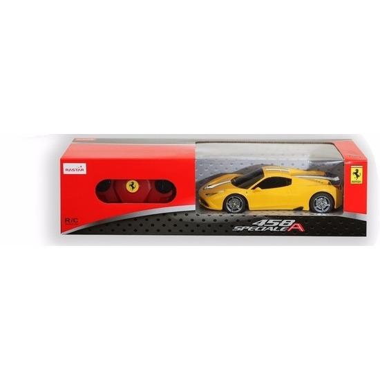 Ferrari 458 Speciale gele radiografisch bestuurbaar 1:24