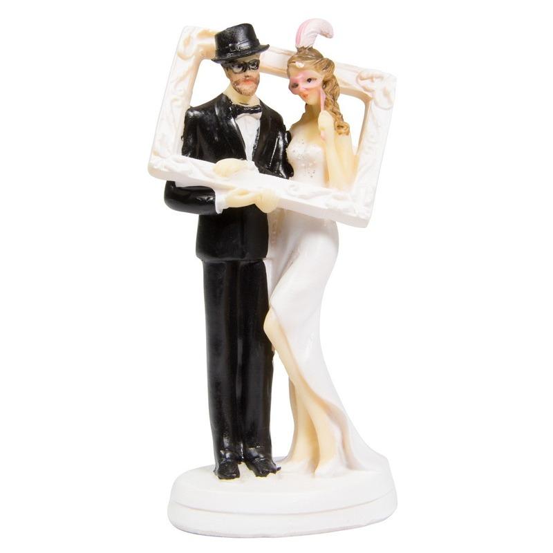 Fotolijst bruidstaartdecoratie 14cm