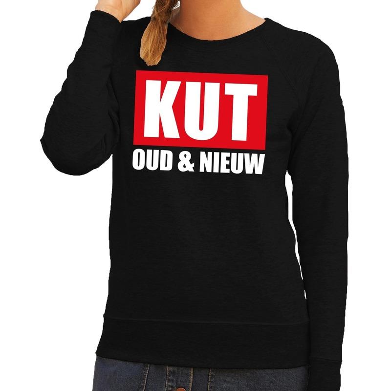Foute oud en nieuw trui/ sweater kut oud en nieuw zwart voor dames