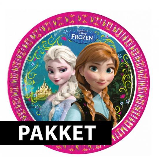 Frozen versiering pakket voor kinderfeestje
