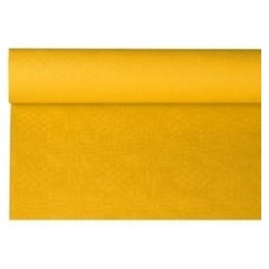 Gele thema versiering papieren tafelkleed 800 x 118 cm