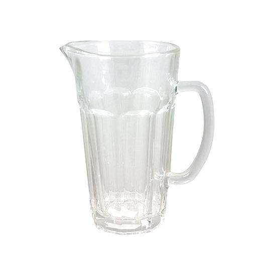 glazen sapkan met kraantje