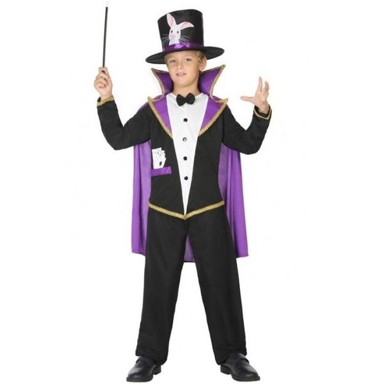 Goochelaar carnavalskleding verkleedpak