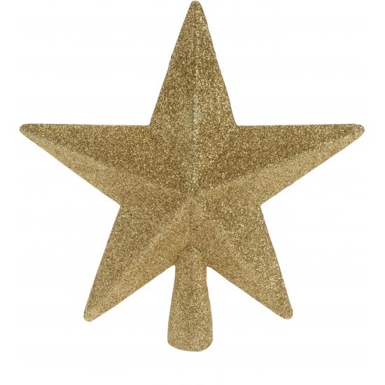 Gouden onbreekbare ster piek