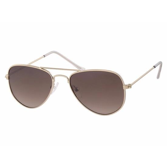 Goudkleurige pilotenbrillen voor peuters