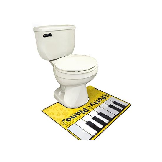Grappige Toiletmat Piano