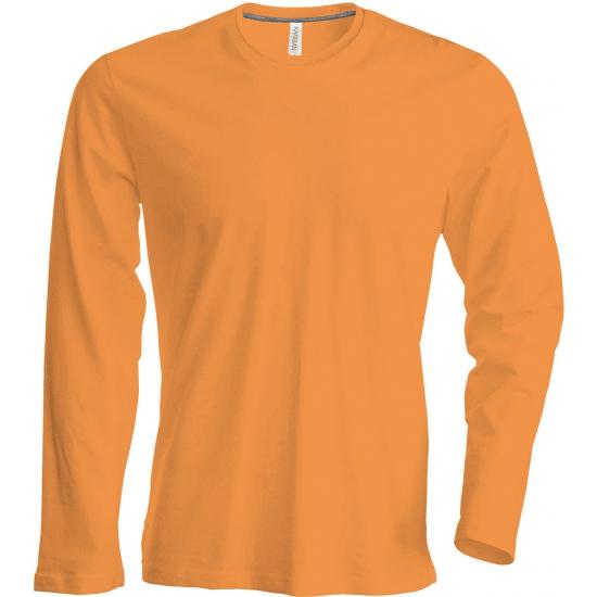 080fdfb7824 Oranje shirt met lange mouwen plus | Oranjediscounter.nl, de oranje ...