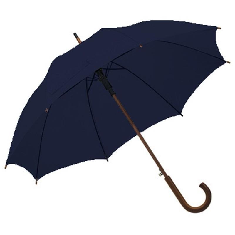 Grote paraplu navy/donkerblauw 103 cm