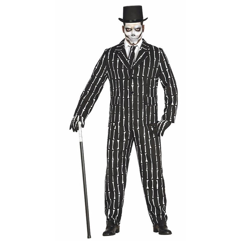 Halloween business suit skelet