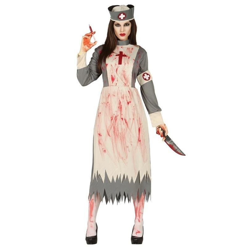 Halloween zuster verkleed kostuum voor dames