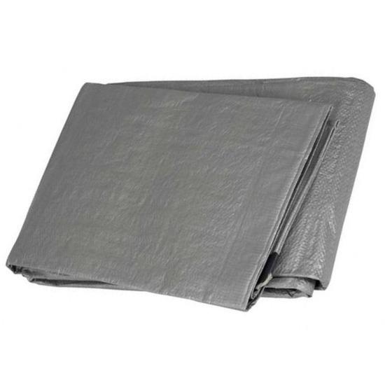 Hoge kwaliteit afdekzeil-dekzeil grijs 2 x 3 meter