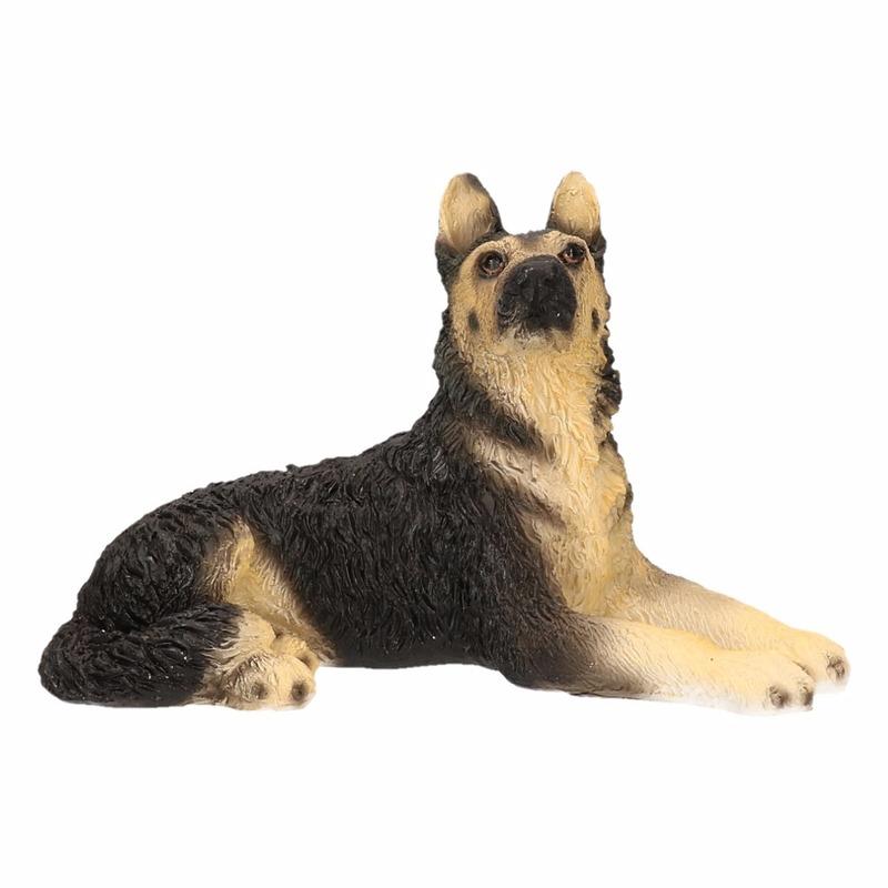 Honden beeldje Duitse Herder 14 cm
