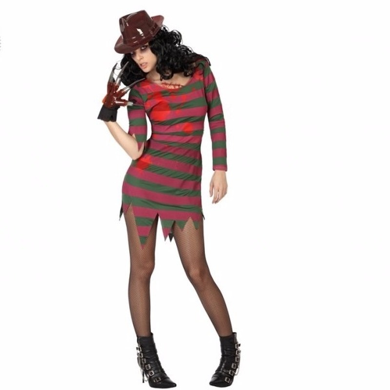 Horror moordenaar Freddy jurk voor vrouwen
