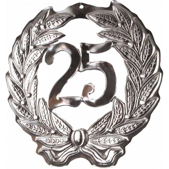 Jubileum krans voor 25 jaar