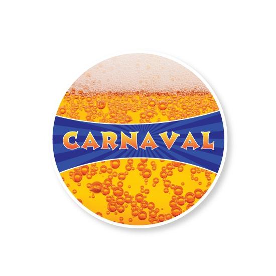Kartonnen Onderzetters Carnaval