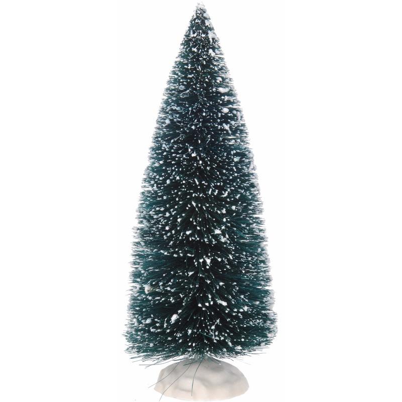 Kerstdorp boompje groen 1 stuks
