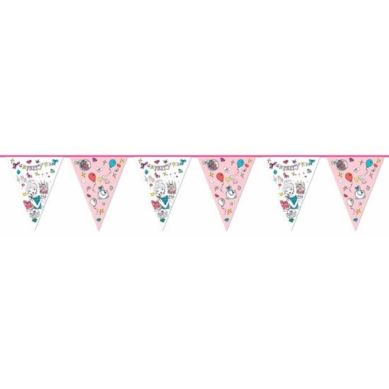 Kinderverjaardag vlaggenlijn Jill 6m