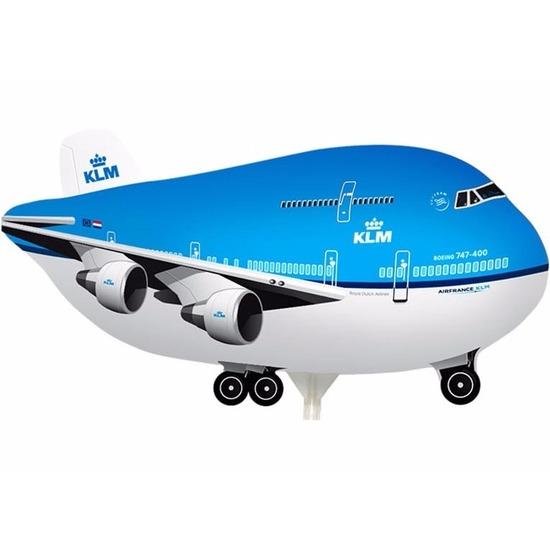 KLM vliegtuig op stokje 21 cm