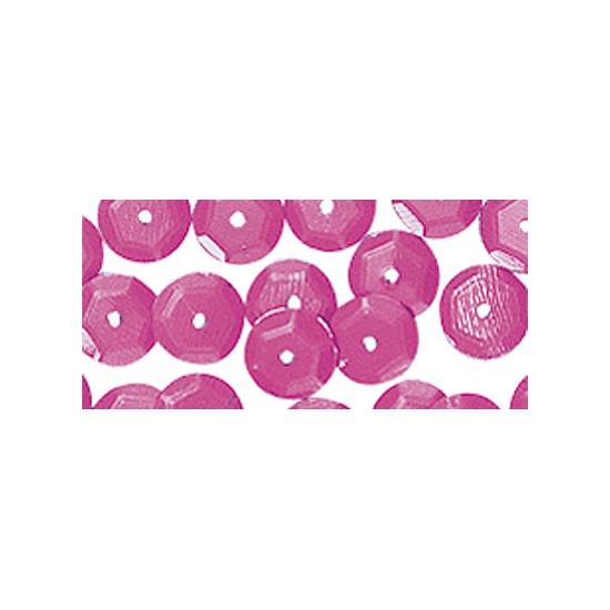 Knutselpailletten roze 6 mm 500 stuks