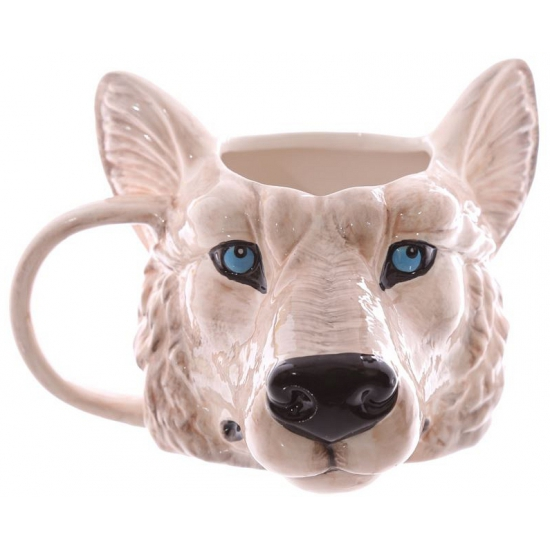 Koffie Beker Wolf 400 Ml