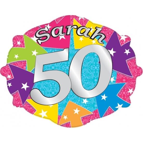 Kroonschilden Sarah 50 jaar
