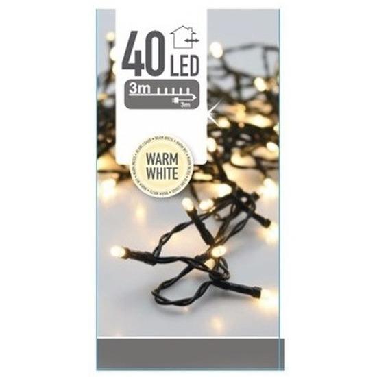 LED kerstverlichting warm wit 3 meter