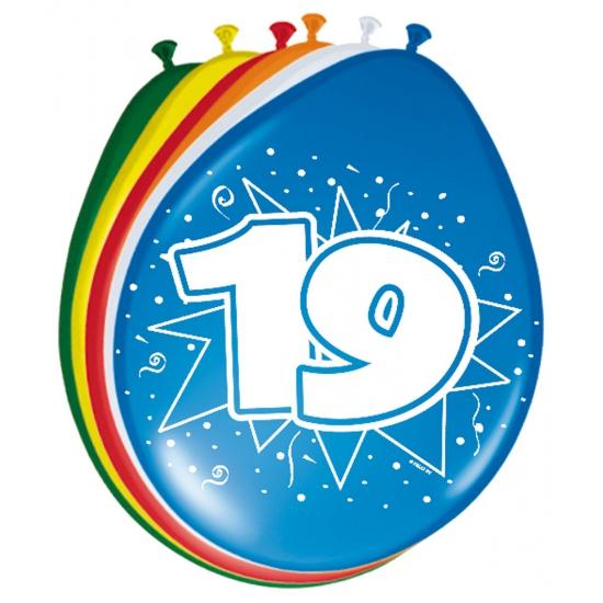 Leeftijd ballonnen 19 jaar