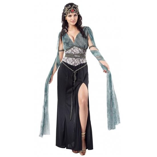Medusa-heksen dames jurk