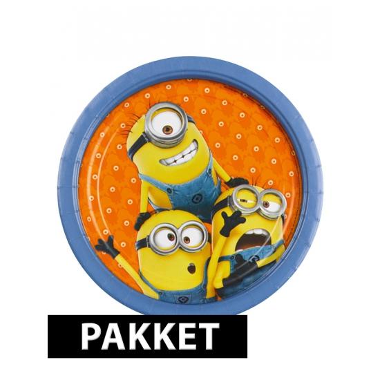 Minions versiering pakket voor kinderfeestje