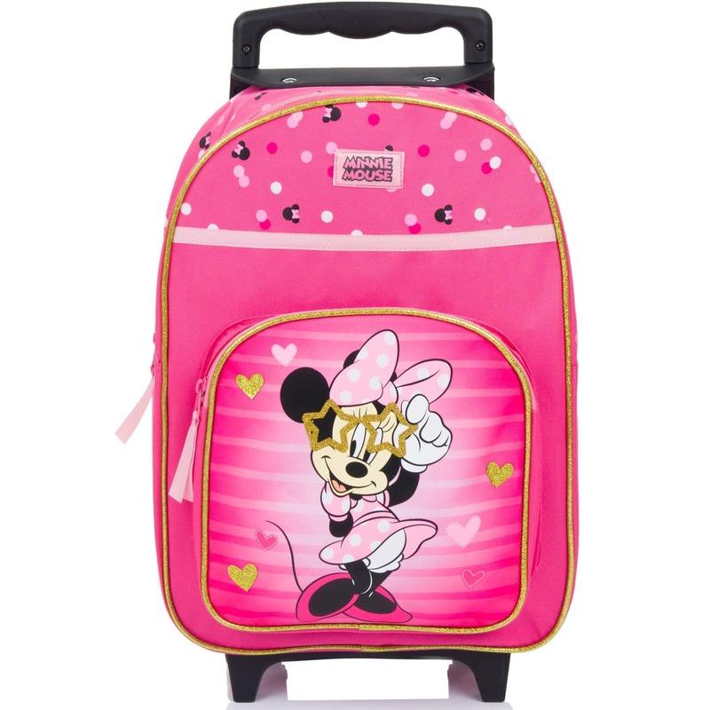 Minnie Mouse koffer op wieltjes 38 cm voor kinderen