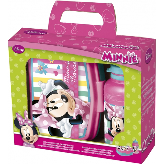 Minnie Mouse lunchbox met beker