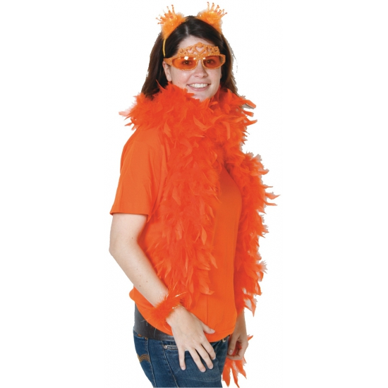 Oranje Boa Van 180 Cm Lang