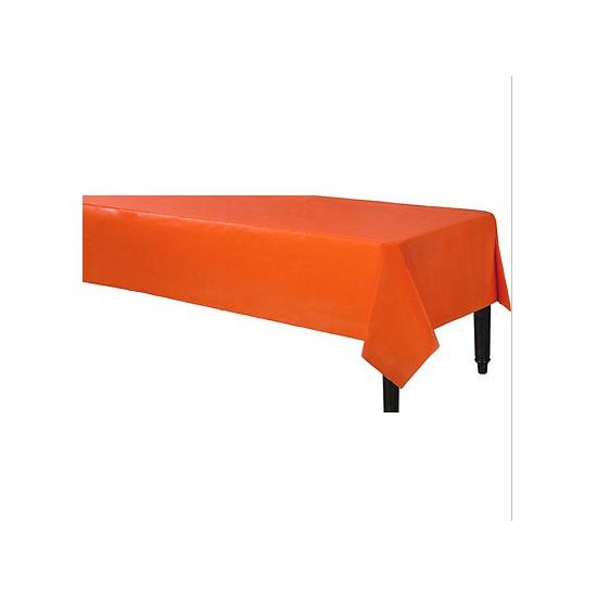 Oranje tafelkleden 140 x 240 cm
