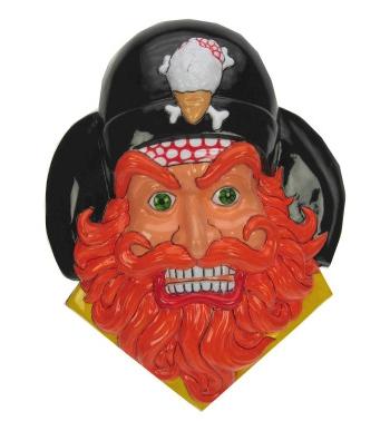 Piraat Met Baard Muurdecoratie