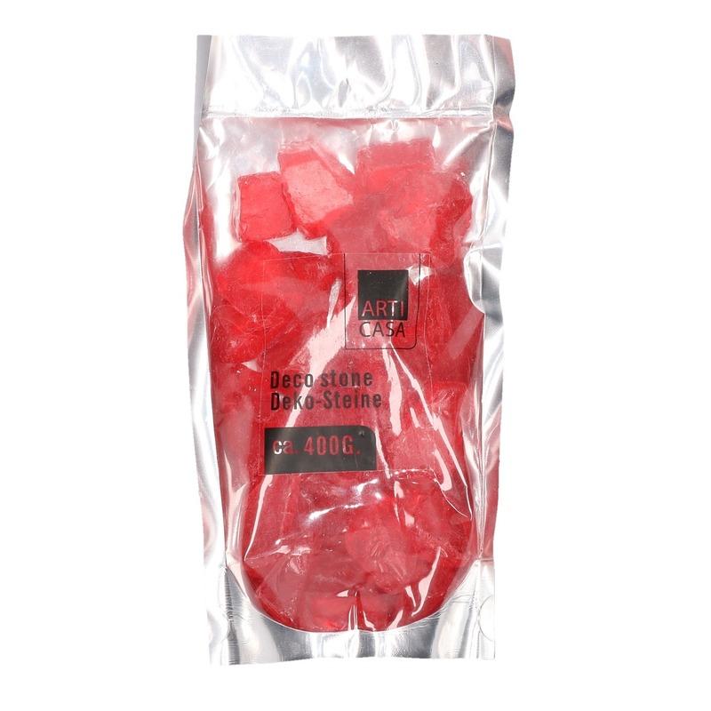 Plantebak steentjes rood