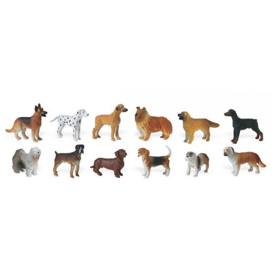 Plastic diertjes hondenrassen
