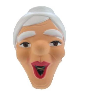 Plastic Sarah masker