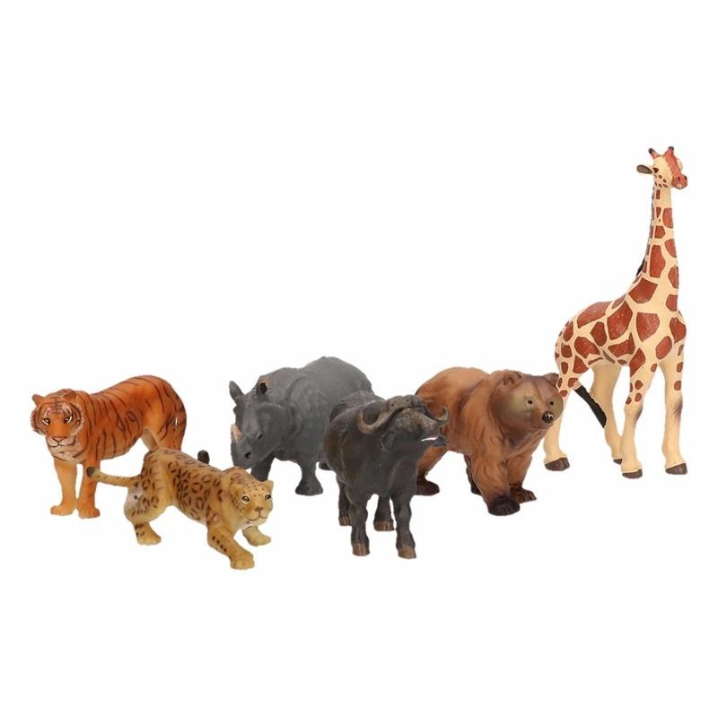 Plastic Speelfiguur Safari Dieren 6 5 Cm